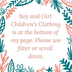 Many boy and girl children's clothing items!!!
